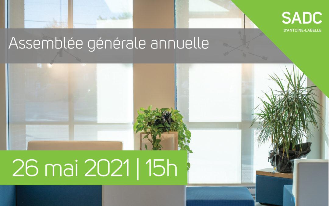 Avis de convocation AGA 2021